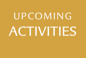 Upcoming Church Activities