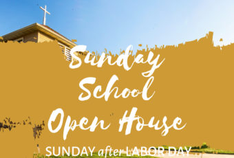 Sunday School Open House