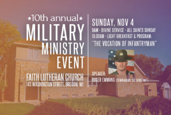 Ministering to Our Military Event